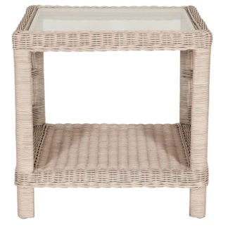 Provence Pearl Wash Side Table